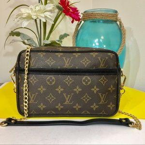 Louis Vuitton Compiegne 23 Shoulder Bag 💼 Black